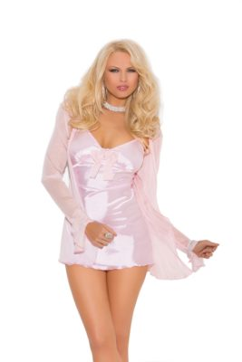 baby doll, satin, jacket, lingerie
