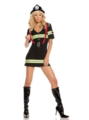 firefighter, costume,