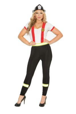 firefighter, costume, plus size