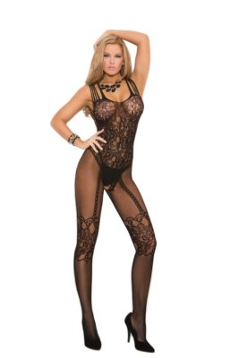 fishnet bodystocking, queens size