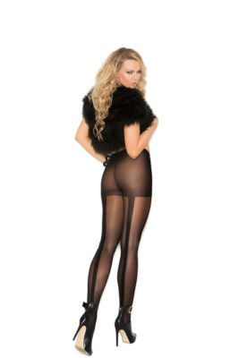 pantyhose, back seam