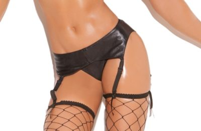 leather garter belt