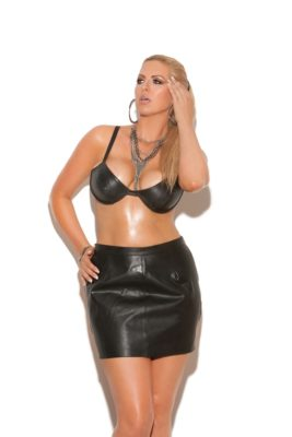 leather spanking skirt