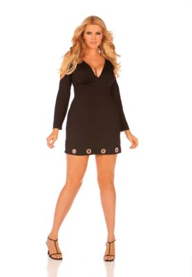 mini dress, clubwear, plus size