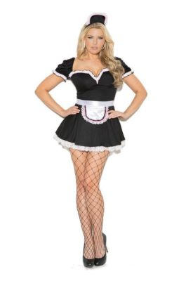 maid, costume, plus size