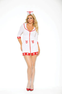 nurse, costume, plus size