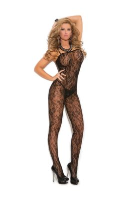 bodystocking, lace